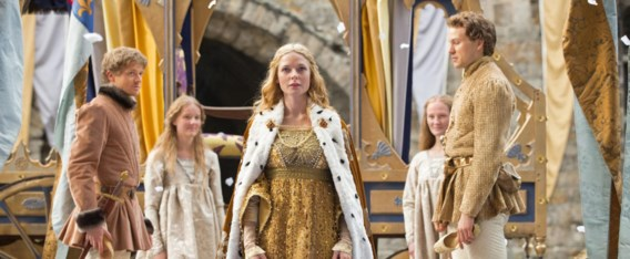 Rebecca Ferguson als Elizabeth Woodville in 'The white queen'.
