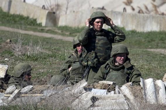 Oekraïense basis Feodosija op de Krim door Russische troepen bestormd
