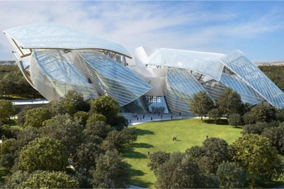 Frank Gehry's museum voor LVMH opent nog eind dit jaar