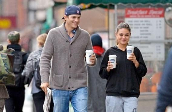 Mila Kunis en Ashton Kutcher verwachten een baby