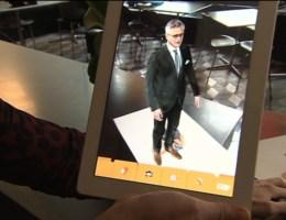 Kris Peeters in 3D op app