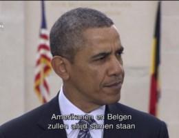 Herbekijk de toespraak van Barack Obama in Waregem