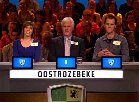 Oostrozebeke haalde de finale van 'De slimste gemeente'.