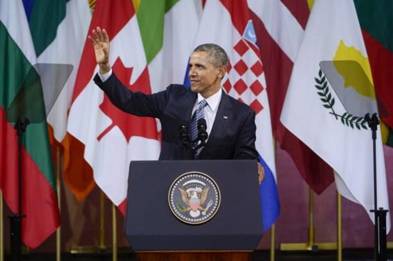 Obama maakte in Bozar foutje over Kosovo