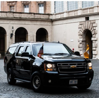 The Beast van Obama.