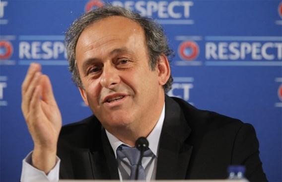 Platini: 'Heb mijn buik vol van mensen die boycot eisen'