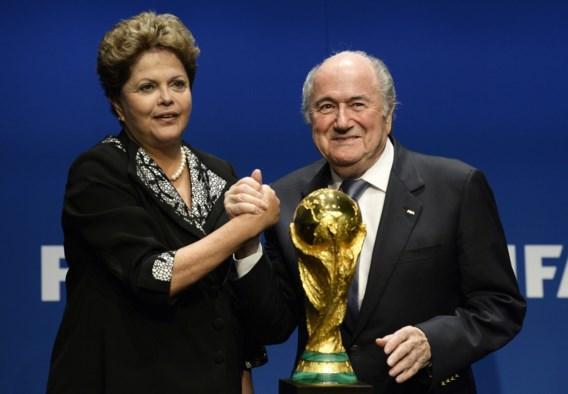 FIFA-baas Blatter vreest voor meer onrust in Brazilië