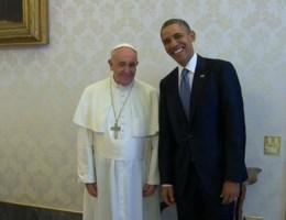 Video: Obama bezoekt de paus