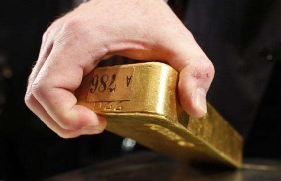 Goudprijs zakt weg onder 1.300 dollar