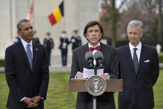 Bezoek Obama kostte al meer dan miljoen