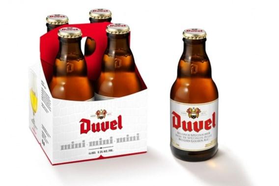 Brouwerij Duvel Moortgat lanceert miniflesjes Duvel
