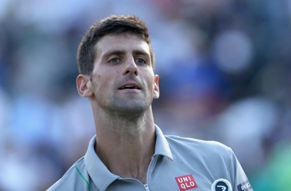 Novak Djokovic zonder spelen naar finale
