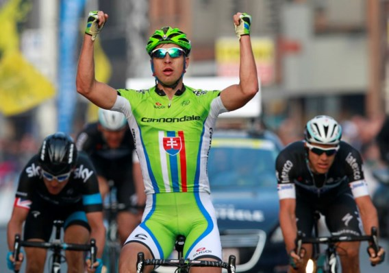Peter Sagan wint zijn eerste E3 Harelbeke