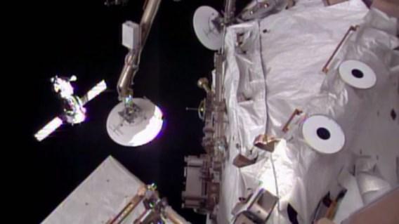Ruimtevaarders met twee dagen vertraging in ISS