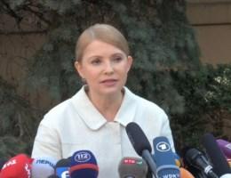 Timosjenko stelt zich presidentskandidaat