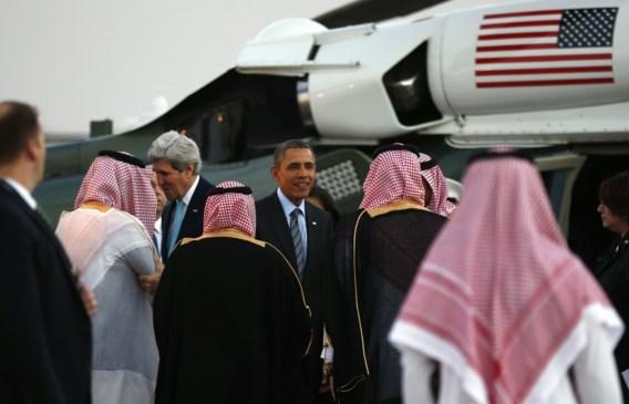 President Obama zit nu in Riyad