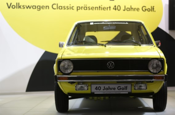 VW Golf viert veertigste verjaardag