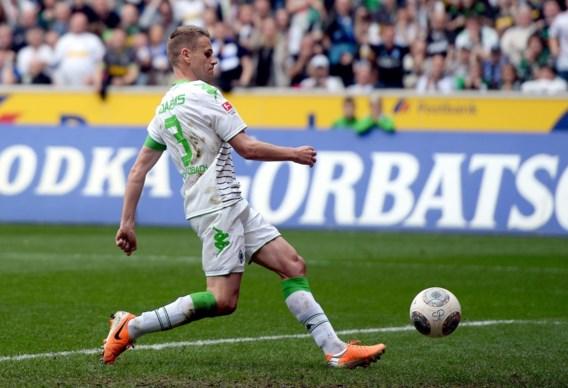 BUNDESLIGA. Filip Daems scoort voor winnend Borussia Mönchengladbach