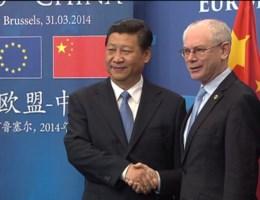 Chinese president ontmoet Van Rompuy