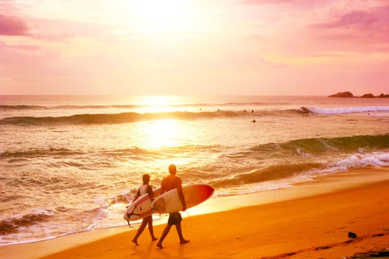 Surfen in Azië: waar moet u zijn?