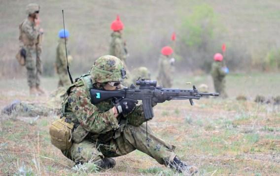 De Japanse zelfverdedigingsmacht doet wel eens manoeuvres met de Amerikaanse marines in Californië, maar noem dit vooral geen leger.