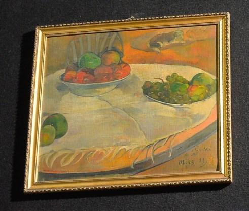 Een Gauguin die prima past in een keukeninterieur.