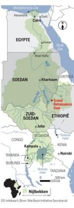 De Nijl in Caïro. De langste rivier ter wereld is een cruciale levensader, maar ook een bron van conflict tussen de landen in het Nijlbassin.
