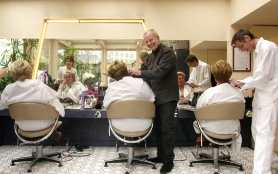 Belgen gaan vier tot vijf keer per jaar naar de kapper