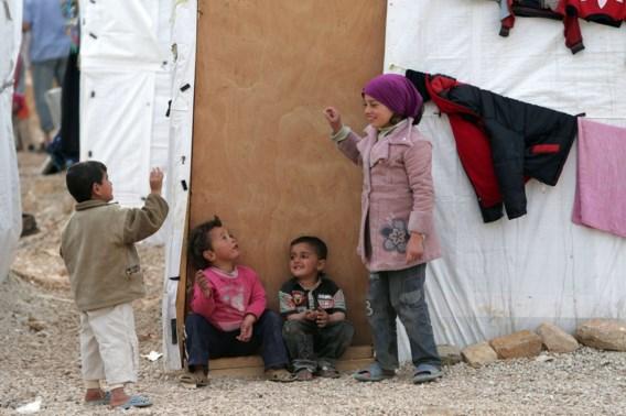 Al één miljoen Syrische vluchtelingen naar Libanon
