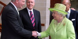 Voormalig IRA-leider gaat dineren bij Queen