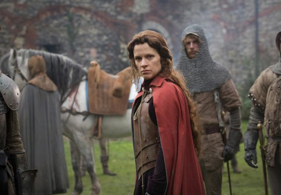 Veerle Baetens als Margaretha van Anjou.