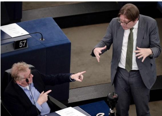 Daniel Cohn-Bendit was gisteren in Straatsburg nog on speaking terms met Guy Verhofstadt.