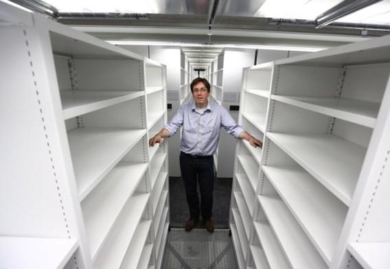 Hendrik Defoort: 'Ons nieuwe depot staat nu nog leeg, maar in september start hier de grootste boekenverhuizing ooit in België.'