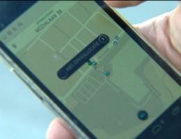 Taxi's Uber rijden nog ondanks verbod