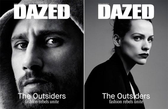 Dazed zet Matthias Schoenaerts en Veerle Baetens op cover