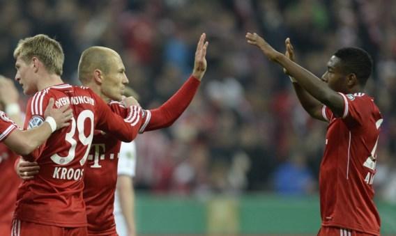 Bayern München speelt Duitse bekerfinale tegen Dortmund