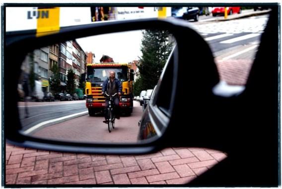 Op de Turnhoutsebaan in Antwerpen is in het nieuwe plan geen plaats meer voor fietsers.