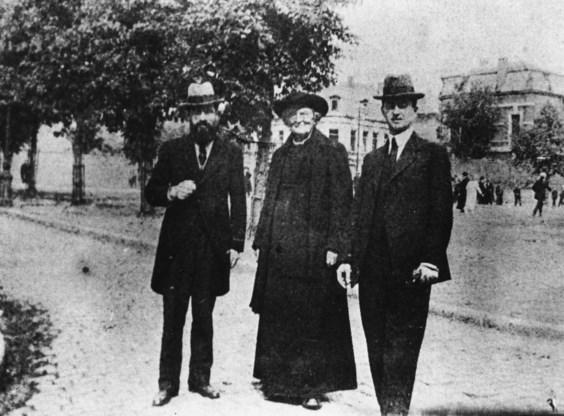 Frans Van Cauwelaert, Hugo Verriest en Gustaaf Sap: de Vlaamse Beweging in haar vele kleuren.