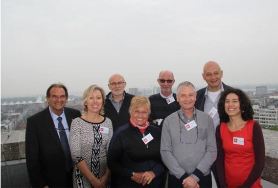 De medewerkers van de dienst Buurtbemiddeling van Antwerpen.