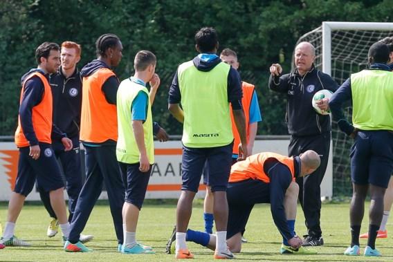 AA Gent dankt fans voor steun met open training