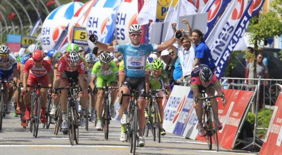 Cavendish wint bizarre vierde etappe in Turkije