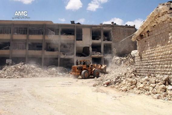 Tien kinderen gedood bij luchtaanvallen op school in Aleppo