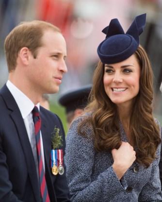 William, Kate en Harry wonen herdenking WOI in België bij