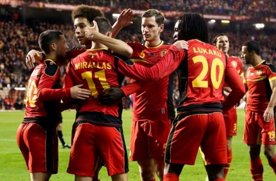 Bookmakers: 'België top vijf waard op WK'