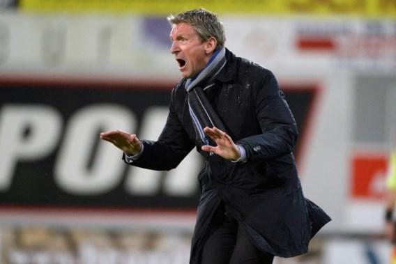 Francky Dury: 'Bij verlies zijn we uitgeschakeld voor de titel'