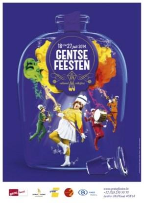 'Gekke fanfare' op affiche van Gentse Feesten