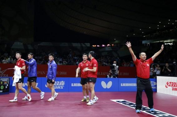 China zevende opeenvolgende keer wereldkampioen tafeltennis