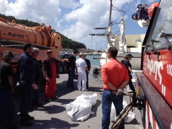 22 migranten verdronken nabij Grieks eiland