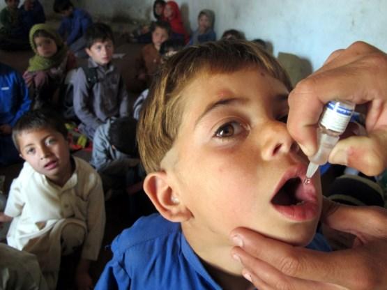 WHO waarschuwt voor opmars van kinderverlamming