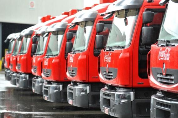 Vakbonden voeren actie aan hoofdzetel Coca Cola